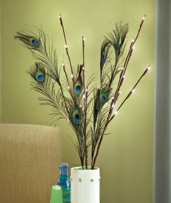 Sets of 3 LED Lighted Branches