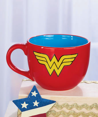 Wonder Woman 24-Oz. Licensed Soup Mug