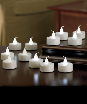 12-Pc. LED Everlasting Tealights
