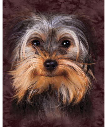 Yorkie Cozy Fleece Throw