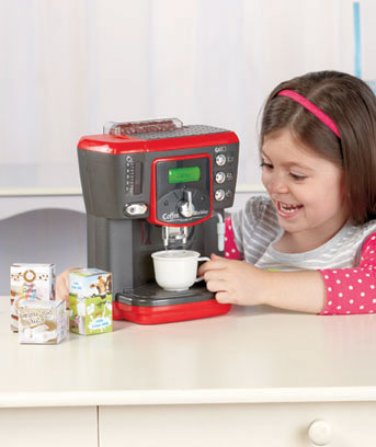 Light and Sound Coffee Maker Playset