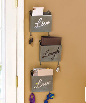 Set of 3 Sentiment Wall Bins