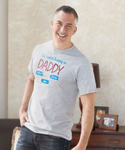 Personalized Dad or Grandpa T-Shirts