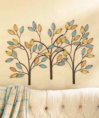 Metal Tree Wall Sculpture