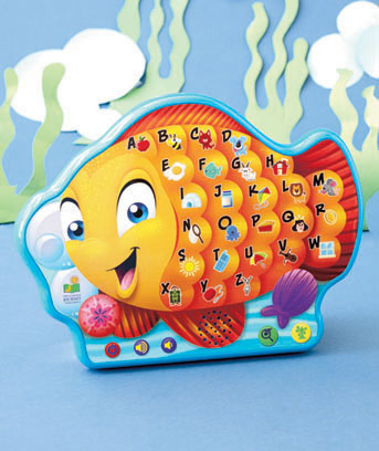 Alphabet Fish Touch and Learn Tablet