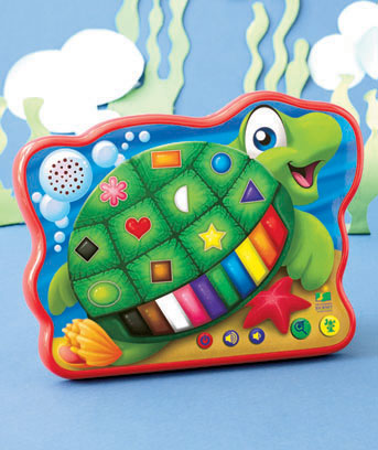 Color and Shapes Turtle Touch and Learn Tablet