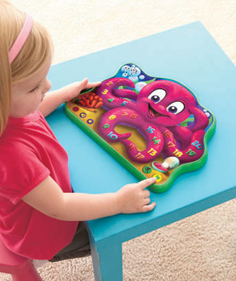 Count and Learn Octopus Touch and Learn Tablet