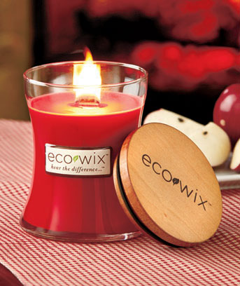 Apple Eco Wix™ Woodwick Candle