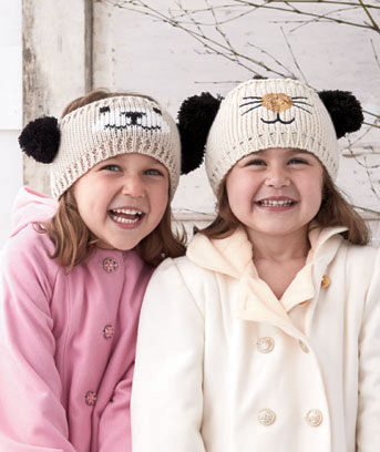 Sets of 2 Kids' Critter Headwraps