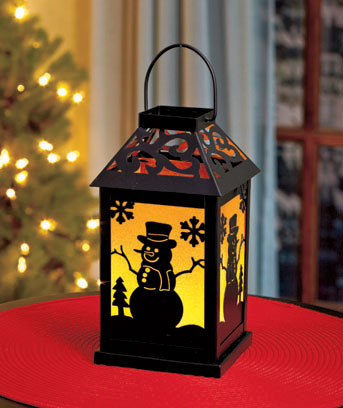 Interchangeable Lighted Lantern
