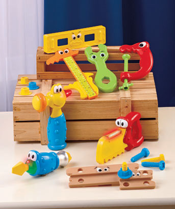 17-Pc. Jumbo Tools Playset