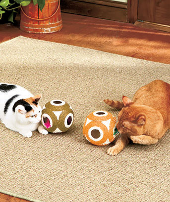 Set of 2 Hide and Seek Pet Toys