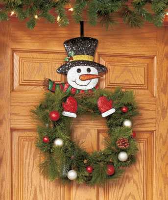 Snowman Wreath Holder