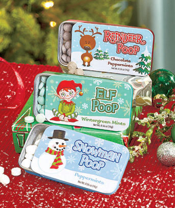 Holiday Set of 3 Novelty Mint Tins