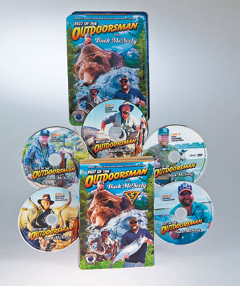 Best of the Outdoorsman with Buck McNeely DVD Set