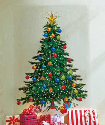 Holiday Tree Holiday Wall Decal