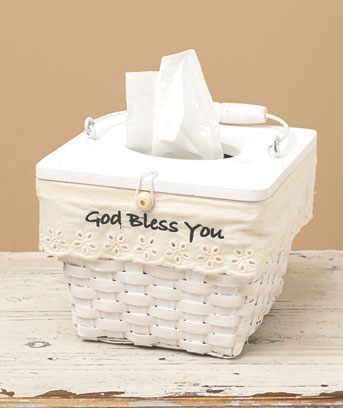 Basket Tissue Box Holders