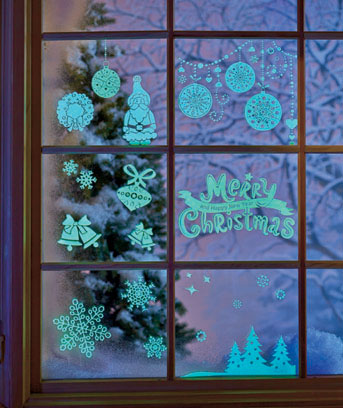 Holiday Window Stickers
