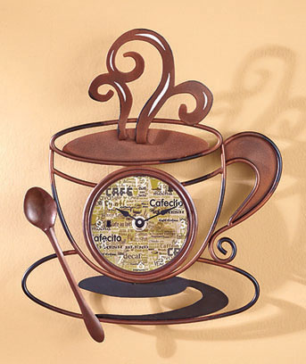 Decorative Metal Clock