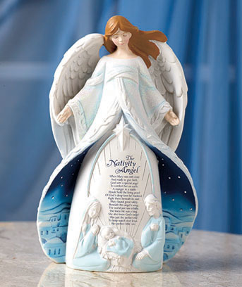 Nativity Angel Ornament or Figurine