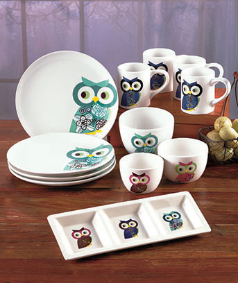 Owl Tabletop Collection