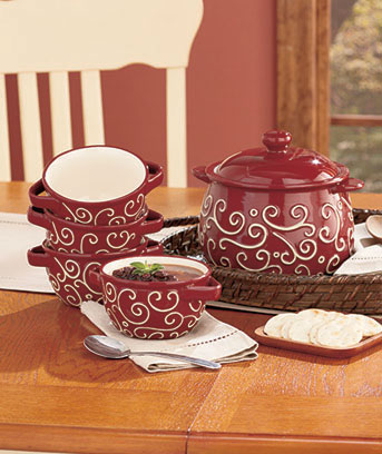 Soup Tureens or Bowl Sets