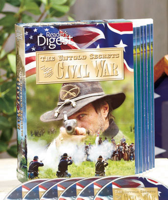 Civil War Reader's Digest 6-DVD Set