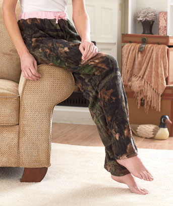 Women's Camouflage Lounge Pants