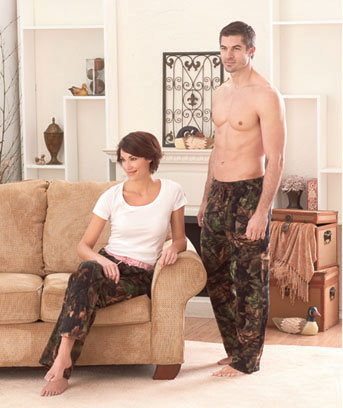 His or Hers Camouflage Lounge Pants