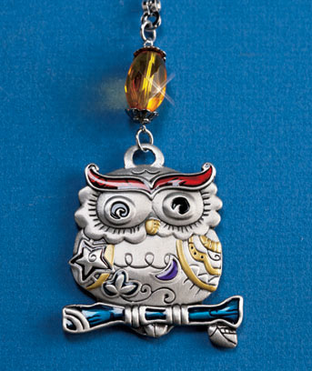 Owl Decorative Fan Pull
