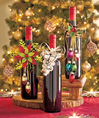 Holiday Wine Bottle Jewelry