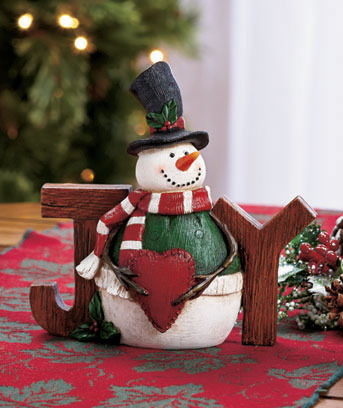 Joy Holiday Sentiment Decor