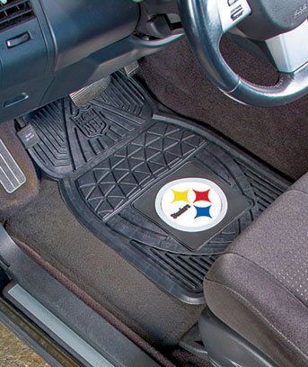 Sets of 2 NFL Vinyl Car Mats