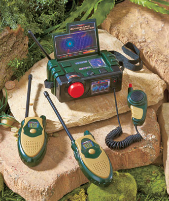 Military Walkie-Talkie Command Center