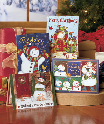 72-Pc. Holiday Greeting Card Sets