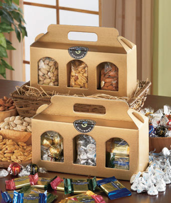 Gourmet Chocolate or Nut Gift Sets