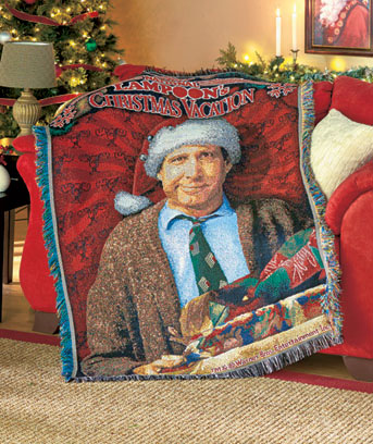 Christmas Vacation Tapestry Christmas Movie Throw