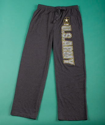 Men's U.S. Army Licensed Lounge Pants