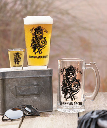 Sons of Anarchy Glassware
