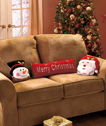 Festive Holiday Pillows