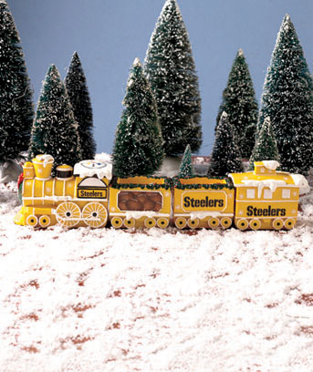NFL Holiday Train Sets