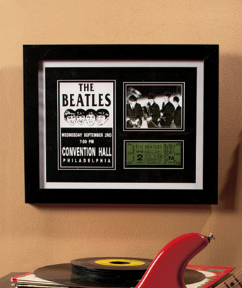 Beatles Philadelphia Rock & Roll Memorabilia