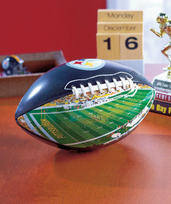 NFL Stadium Collectible Footballs