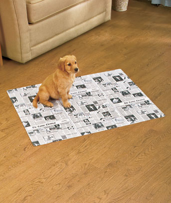"Newsprint 28"" x 36"" Pet Potty Pad Mate™"