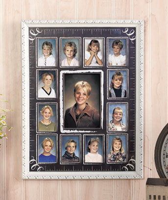 Baby or School Years Photo Collage Frames
