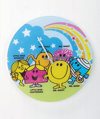 Mr. Happy Series Wall Clocks