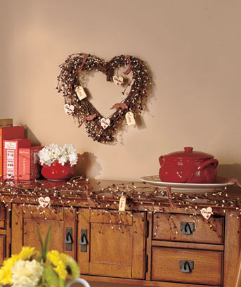 Country Hearts Wreath or Garland