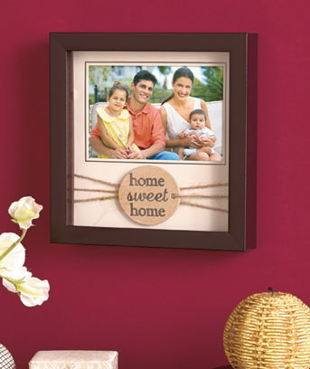 Sentiment Tag Photo Frames