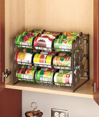 Bronze Kitchen Storage Organizers