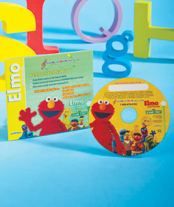 Elmo� and Friends Personalized Songs CD